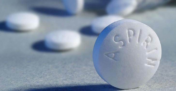 Aspirinin mucizevi bir etkisi bulundu!
