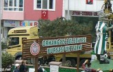 Bursaspor Parkı Timsah Heykeli ile Taçlandı