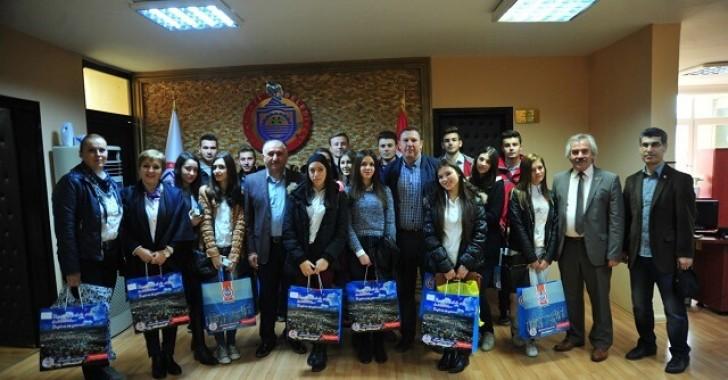 Vinica Kardeş Şehrin Öğrencilerini Ağırladık