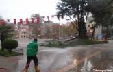 Orhangazi Cadde ve Sokakları Temizlendi