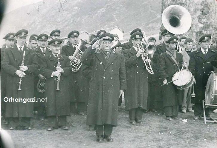 Eski Bursalıların bileceği isimler sembol karakterler, Bursa bandosu 1954